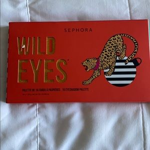 Sephora Eyeshadow Palette Wild Eyes NEW